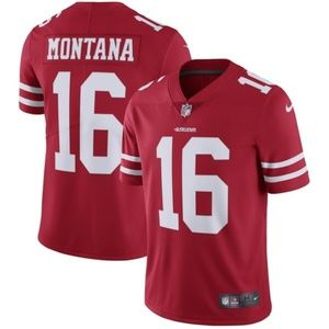 Men's San Francisco 49ers Joe Montana Jersey